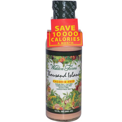 Walden Farms, Thousand Island Dressing, 12 fl oz (355 ml) فوائد