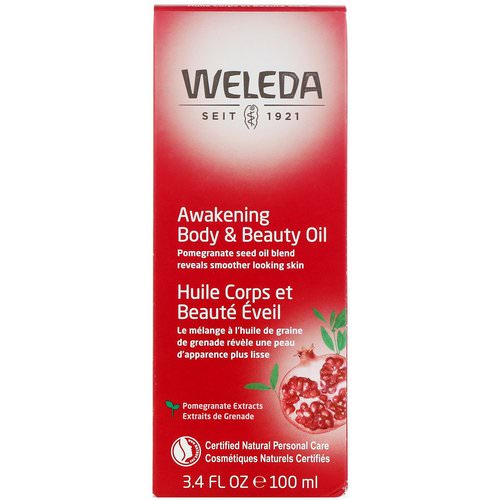 Weleda, Awakening Body & Beauty Oil, 3.4 fl oz (100 ml) فوائد