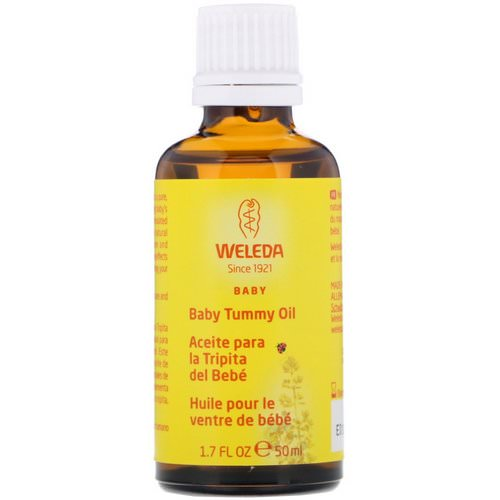 Weleda, Baby Tummy Oil, 1.7 fl oz (50 ml) فوائد