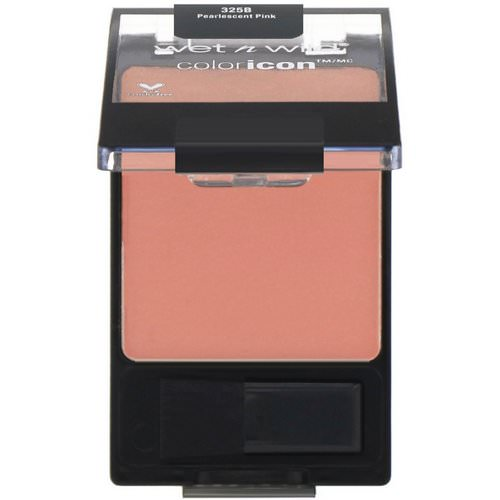 Wet n Wild, Color Icon Blush, Pearlescent Pink, 0.2 oz (5.85 g) فوائد
