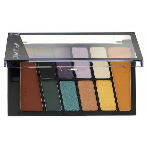 Wet n Wild, Color Icon Eyeshadow Palette, 762C Cosmic Collision, 0.35 oz (10 g) فوائد