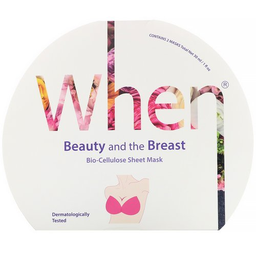 When Beauty, Beauty and the Breast, Bio-Cellulose Sheet Mask, 2 Masks, 0.5 fl oz (15 ml) Each فوائد