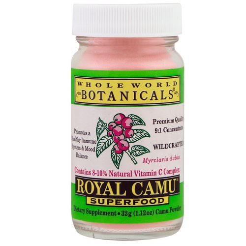 Whole World Botanicals, Royal Camu Superfood, 1.12 oz (32 g) فوائد