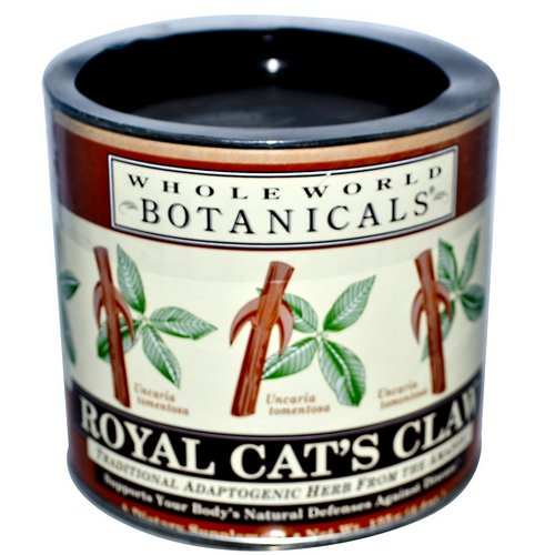 Whole World Botanicals, Royal Cat's Claw, 4.4 oz (125 g) فوائد