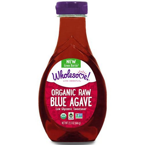 Wholesome, Organic Raw Blue Agave, 1.46 lbs (666 g) فوائد