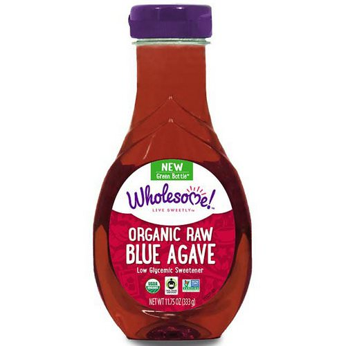 Wholesome, Organic Raw Blue Agave, 11.75 oz (333 g) فوائد