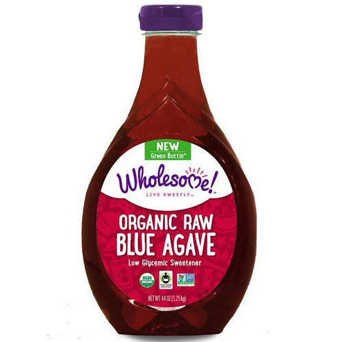 Wholesome, Organic Raw Blue Agave, 44 oz (1.25 kg) فوائد
