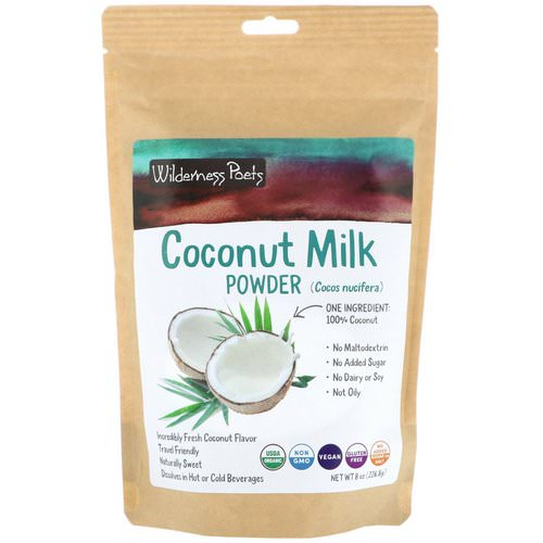 Wilderness Poets, Coconut Milk Powder, 8 oz (226.8 g) فوائد