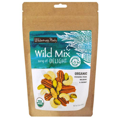 Wilderness Poets, Organic Wild Mix, Song of Delight, 8 oz (226.8 g) فوائد