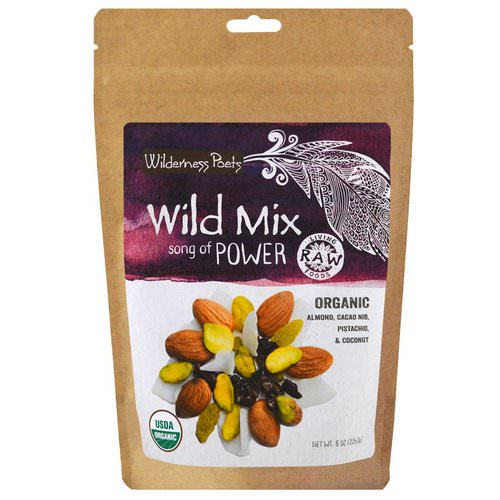 Wilderness Poets, Organic Wild Mix, Song of Power, 8 oz (226.8 g) فوائد
