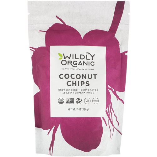 Wildly Organic, Coconut Chips, 7 oz (198 g) فوائد