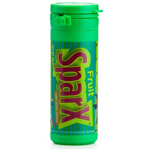 Xlear, SparX Candy, with 100% Xylito, Fruit, 30 g فوائد