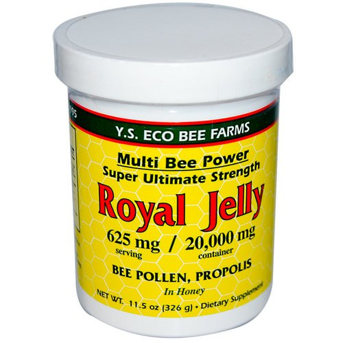 Y.S. Eco Bee Farms, Royal Jelly, 11.5 oz (326 g) فوائد