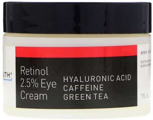 Yeouth, Retinol, 2.5% Eye Cream, 1 fl oz (30 ml) فوائد