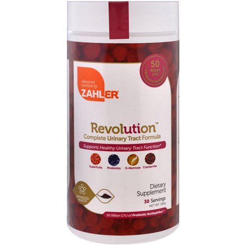 Zahler, Revolution, Complete Urinary Tract Formula, 180 g فوائد