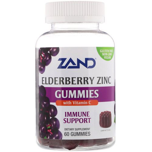 Zand, Elderberry Zinc Gummies with Vitamin C, 60 Gummies فوائد