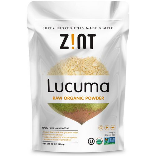 Zint, Lucuma, Raw Organic Powder, 16 oz (454 g) فوائد