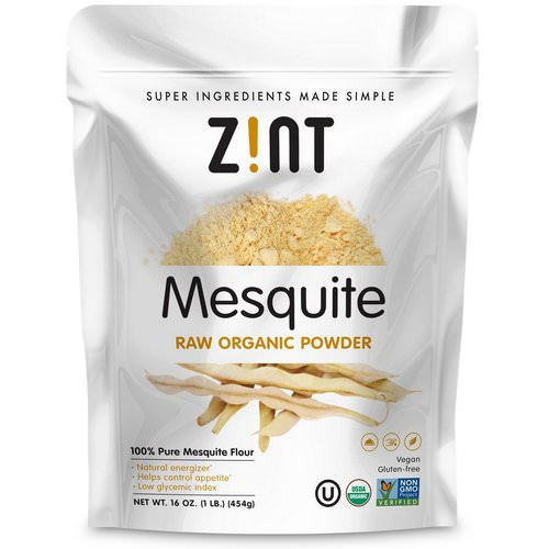 Zint, Mesquite Raw Organic Powder, 16 oz (454 g) فوائد