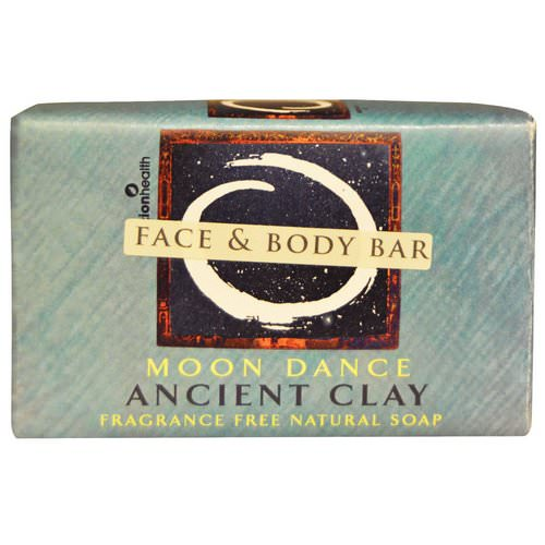 Zion Health, Ancient Clay Natural Soap, Moon Dance, Fragrance Free, 6 oz (170 g) فوائد
