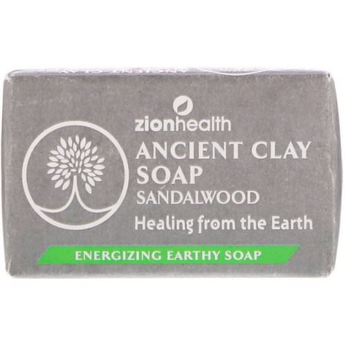 Zion Health, Ancient Clay Soap, Sandalwood, 6 oz (170 g) فوائد