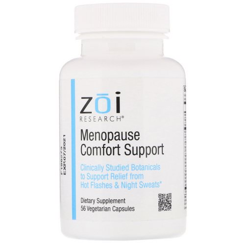 ZOI Research, Menopause Comfort Support, 56 Vegetarian Capsules فوائد