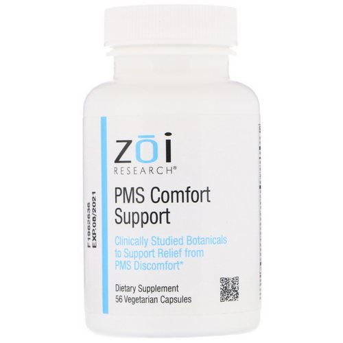 ZOI Research, PMS Comfort Support, 56 Vegetarian Capsules فوائد