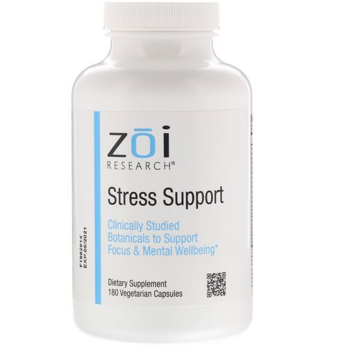ZOI Research, Stress Support, 180 Vegetarian Capsules فوائد